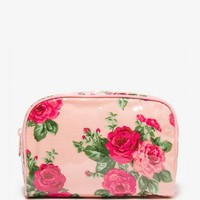 Patent Rose Makeup Case | FOREVER 21 - 1035302502