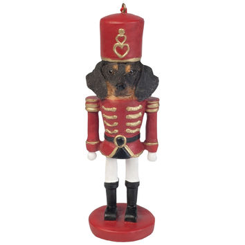Dachshund Nutcracker Christmas Ornament