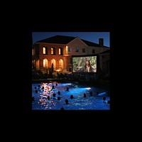Open Air Cinema CineBox Pro 12'x7' Outdoor High Def Theater Sys 16x9 Wide CBP-12