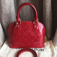 LV Women Shopping Leather Tote Crossbody Satchel Shoulder Bag Handbag G-LLBPFSH