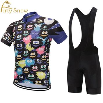 Firty Snow HOT 2018cycling jersey pro team bike wear clothing riding racing maillot ropa ciclismo blue gel road white red funny