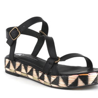 Tuxedo Flatform in Black from BC Footwear - Women's Shoes