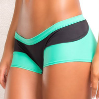 Vertical Vixen Daphne Mint Workout Shorts