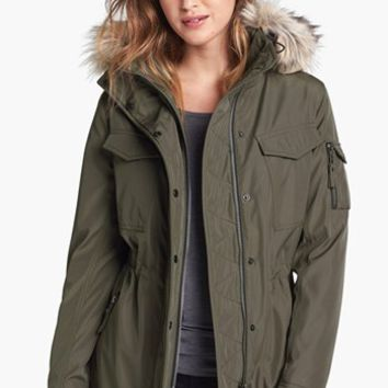 S13/NYC 'Field Parka' Anorak with Faux Fur Trim | Nordstrom