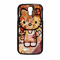 Obey Hello Kitty Samsung Galaxy S4 Case
