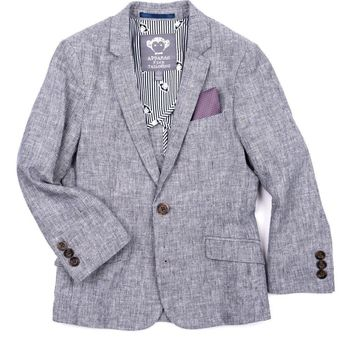 Appaman Boys' Railroad Stripe Blazer