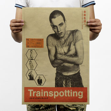 Trainspotting Psychedelic Poster 20X14