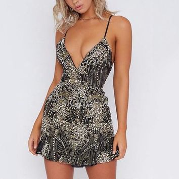 Galinda Sequin Detailed Party Dress