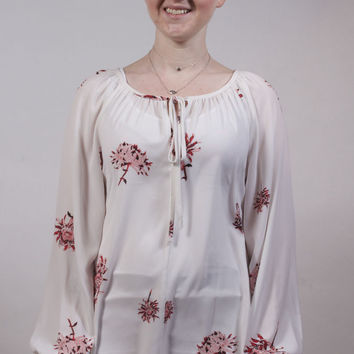 Chrysanthemum Poet Blouse