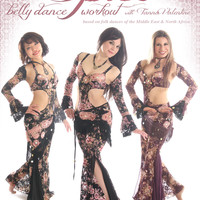 """""""Spice - The Belly Dance Workout"""" DVD with Tanna Valentine"""
