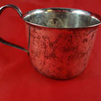 Vintage Silver Baby Cup from Denmark
