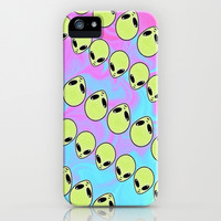 Alien iPhone & iPod Case by Madalina Five