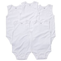 Carter's 5-pk. Solid Bodysuits - Baby, Size: