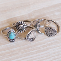 Little Kansas Ring Set