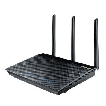 ASUS ASUS RT-AC66U Dual-Band Wireless-AC1750 Gigabit Router | www.deviazon.com