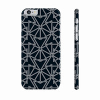 Black Symmetry Phone Cover