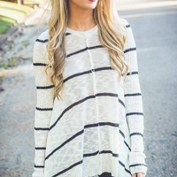 Ava Rae Striped Sweater