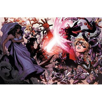 Avengers: The Children's Crusade #4 - Limited Edition Giclee on Stretched Canvas by Jim Cheung and Marvel Comics