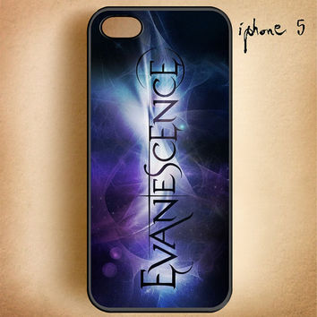 Evanescence-Design On Hard Plastic Cover Case, IPhone 4,4S or IPhone 5 Case, Samsung Galaxy S2,S3 or S4 Case