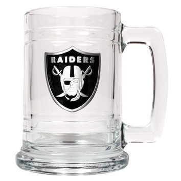 Personalized NFL Beer Mug - Oakland Raiders