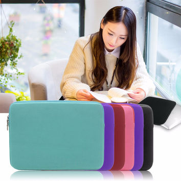 2016 NEW Trendy Style Sleeve Case Cover For Macbook Laptop 13/14/15 inch Notebook