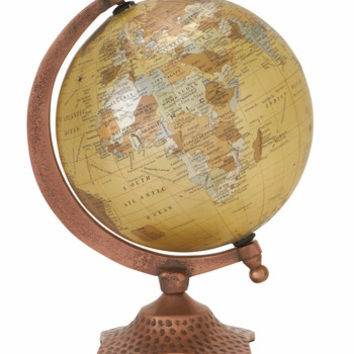 "Sturdy and Stylish Metal PVC Globe 7""W 10""H"