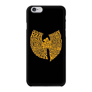 Wu Tang  iPhone 6/6S Case