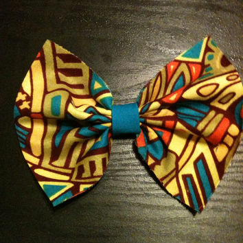 African-Ethnic Hair Bows-Hair Accessories