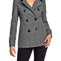Old Navy Womens Wool Blend Peacoats
