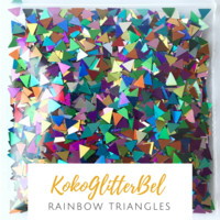 Holographic Triangles- Rainbow