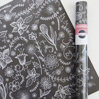 Specialty Wrapping Sheets - Flowers & Vines