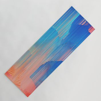 Hot n' Cold Yoga Mat by duckyb