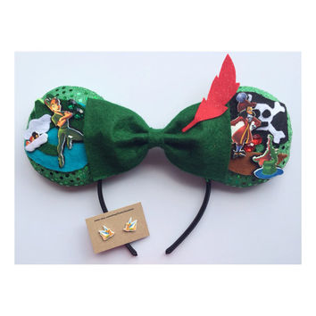 Peter Pan Themed Minnie Ears