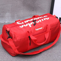 Selling men's soccer shoulder bag men's basketball training independent capacity volleyball bag Red