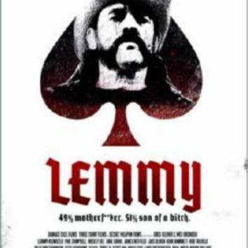 Lemmy Motorhead Movie Poster 11 inch x 17 inch poster