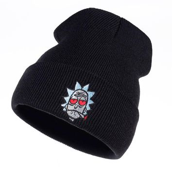 ca kuyou Rick and Morty Beanie