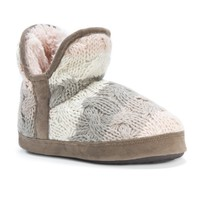 MUK LUKS Women's Pennley Slippers | Overstock.com Shopping - The Best Deals on Slippers