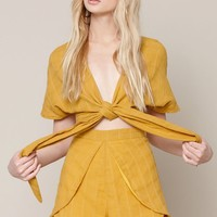 Reverse Sunny Side Of Love Romper at PacSun.com