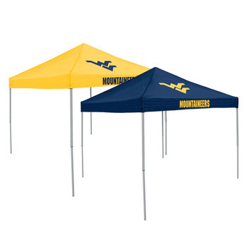 West Virginia Mountaineers NCAA Reversible Home And Away Tent