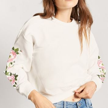 Floral Embroidered Top
