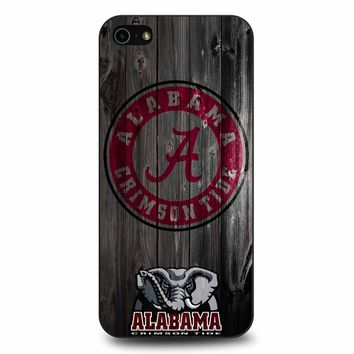 Alabama Crimson Tide iPhone 5/5s/SE Case
