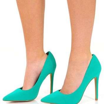 Just A Girl Heels: Jade - Shoes - Hope's Boutique