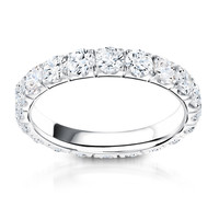 Anya Eternity Diamond Wedding Ring Steven Singer Jewelers
