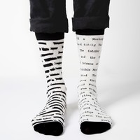 Banned Books literary socks | Outofprintclothing.com