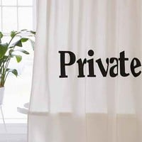 Private Shower Curtain