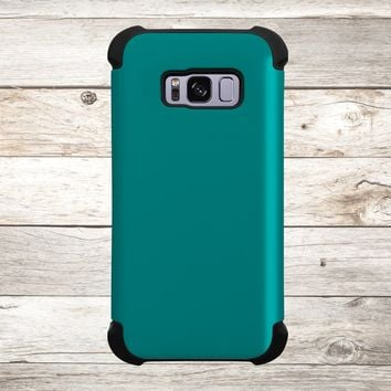 Solid Color Teal for Apple iPhone, Samsung Galaxy, and Google Pixel
