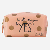 ZOELLA BEAUTY Just Say Yes Beauty Bag and Pencil Case | Pouches