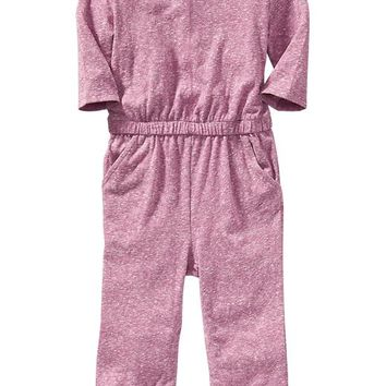 Old Navy Long Sleeve Lightweight Knit Romper For Baby