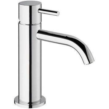 Knob Single Lever Handle Bathroom Lavatory Basin Faucet With Pop-up Drain