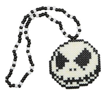 Jack the Skeleton Kandi Necklace